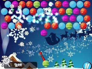 Obrázek ze hry Bubble Shooter Christmas
