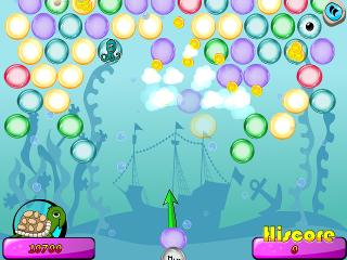 Nová hra Undersea Bubble Shooter #Gamesy